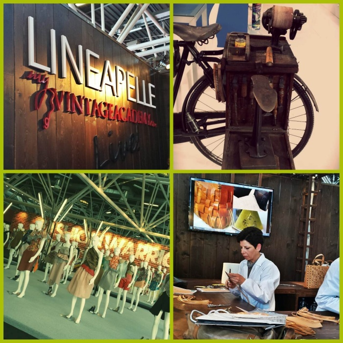 At Lineapelle Workshops