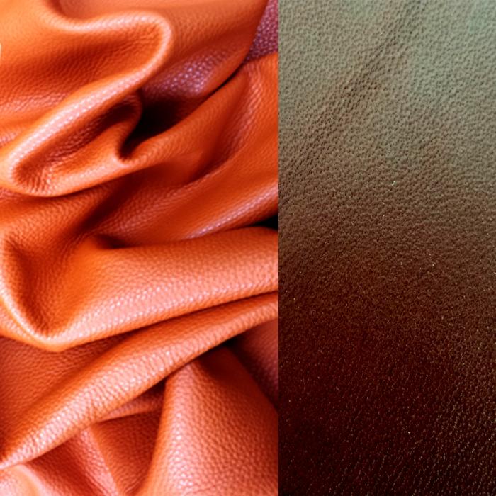 Leather chosen by Lenka Gourdie