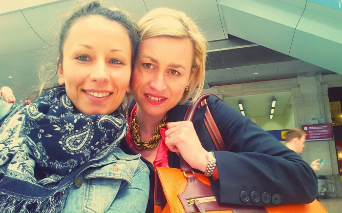 Creative Director Anya Sushko with Lenka Gourdie