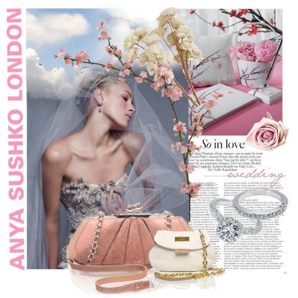 The Mini Wristlet  in Ivory & Cream by Anya Sushko