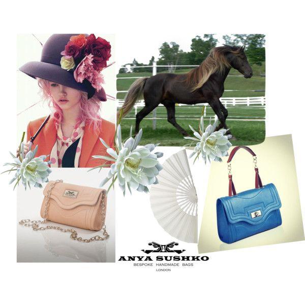 The Severina Cream Handbag and Maxi Severina in Sky Blue