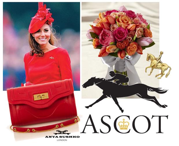 The Severina Handbag in Rose Red