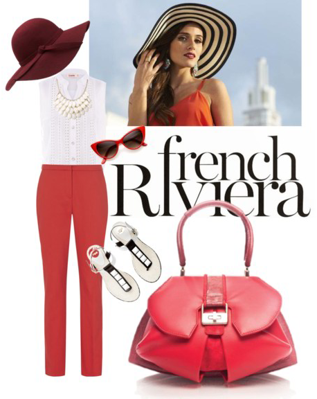 The Modern Extravaganza Bag in Rose and Terracotta!