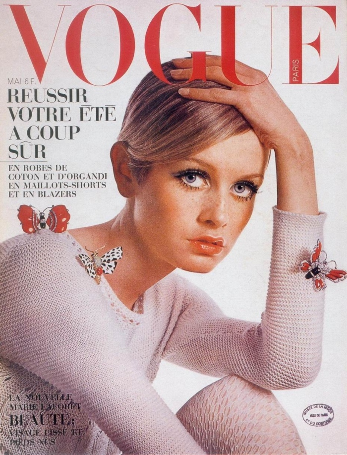 Twiggy, the Vogue Cover Girl