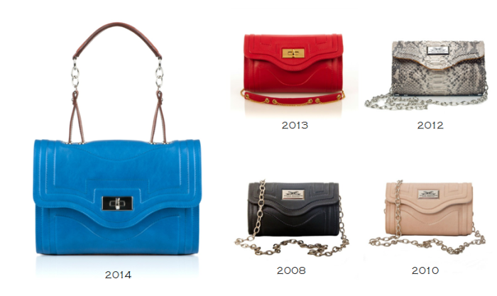 Severina Handbags throughout the years!