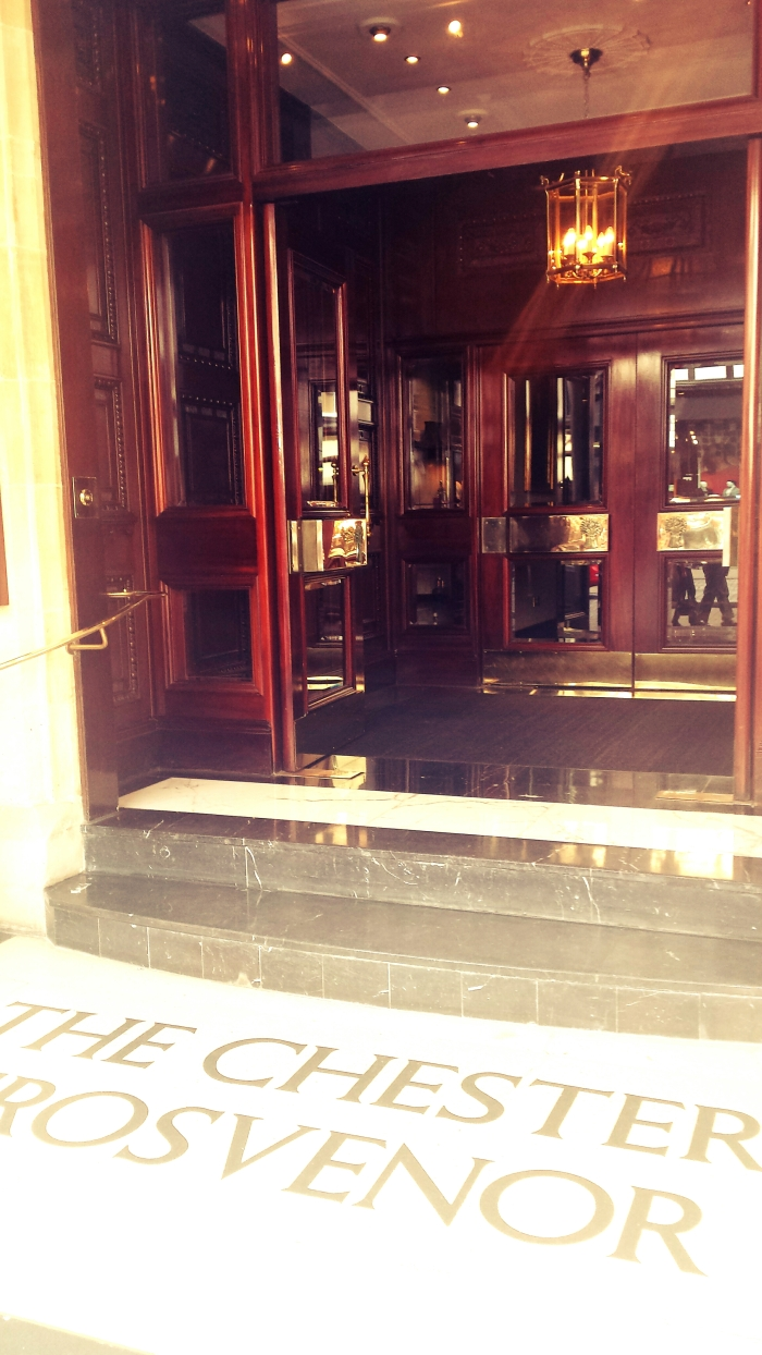 Grand Entrance of Grosvenor Hotel