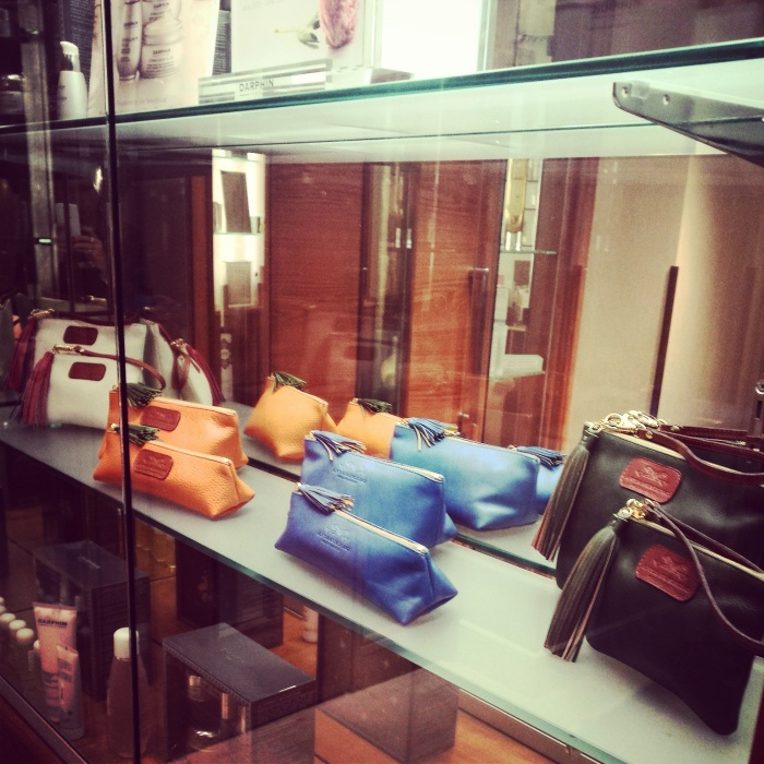 Anya Sushko Berry Accessories display
