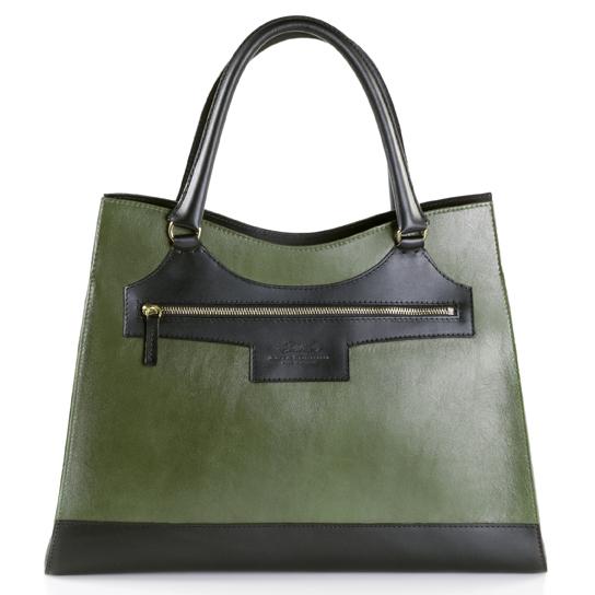 anya sushko maxi karolina olive green bag